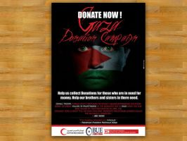 Gaza Donation Campaign by XtrDesign