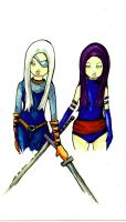 Ravager and Psylocke kids by blackflameknight