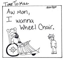 wheelchair by timetokillcomics