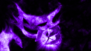 Pokemon: Haunter (Wallpaper) by Hardii