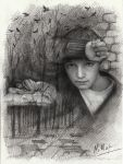 Hopelessness. Illustration to the book by Natamur