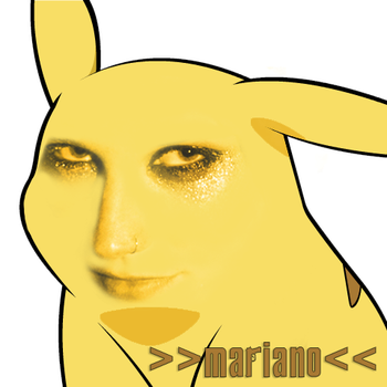 Give Pikachu a face: Ke$ha by captainjohn