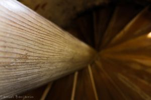 Wooden Stair Beam by Samuel-Benjamin