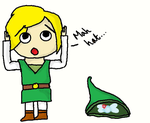 Link lost his hat by NekoFangirl28