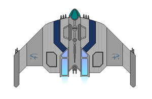 Mass Effect Salarian Bomber by Seeras