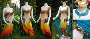 Colors of the Wind Gown by vani
