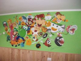 Super Mario Room FINISHED by JFRteam