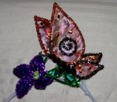 Butterfly tiara by pipecleaner-princess