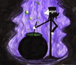 Snape stirring a cauldron by Hugtand