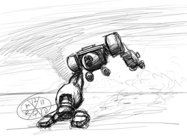 RD-1R Roadrunner SpeedSketch by Norsehound