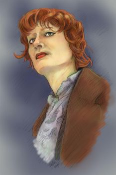 Doctor Who- the lady Doctor- portrait wip by the-lady-doctor