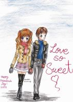 .Love So Sweet. by arisu-chan25