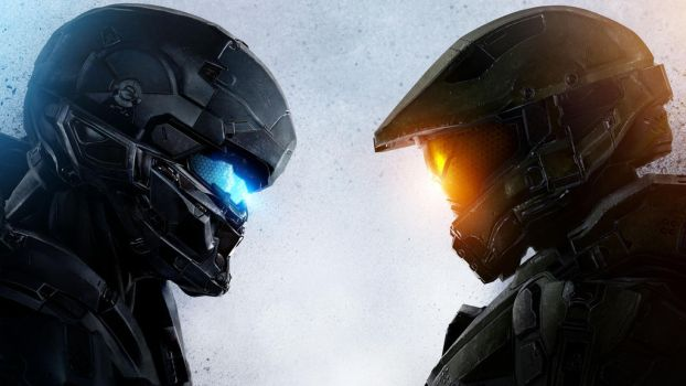Halo 5 Guardians face off by vgwallpapers