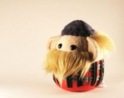 Bronc the Lumberjack Plushie by Saint-Angel