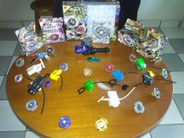 Beyblade Collection 2012 by Zolistlugia