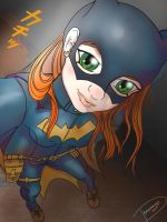 Batgirl selfie by dragonariaes