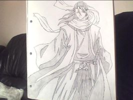 kuchiki-byakay bleach by 8789steve
