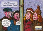 Creative Characters Holiday Card 2014 by Smigliano