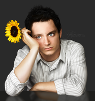 Elijah Wood by KaTT-a-KlysM