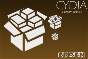 Cydia Icon - Custom Shape by cbrenn