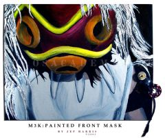 M3K:Painted Front Mask by nomusenation