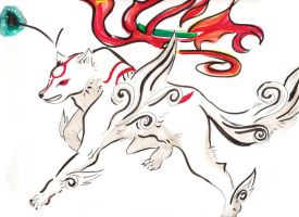 Okami by GrapefruitTea