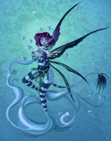 Faery Elementals: WillowWater by maina