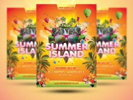 Summer-Festival-Flyer by designercow