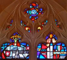 National Cathedral Stained Glass 7 - DETAIL by 44NATHAN