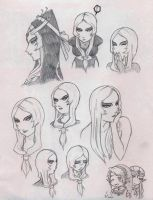 Expressions of Midna by WhateverQ32