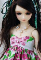Flover Dress by ball-jointed-Alice