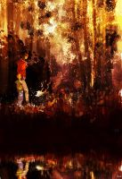 A walk in the forest. by PascalCampion