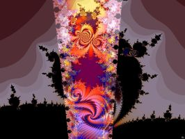The Barrier of Reality bursts by FractalMonster