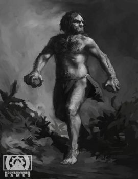 Neanderthal Man concept by Quigleyer