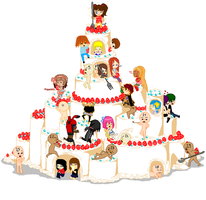Giant cake !!! :Open collab: by ChocolateHelicopter1
