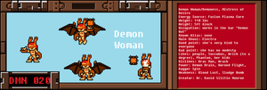 New Demoness Bio by RP-GhostMan