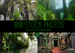 100 stock photos by Royalites