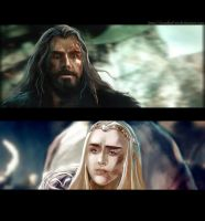 Thorin/Thranduil_Run You fool by Rosalind-WT