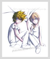 Feel so high- Namine and Roxas by pluto-kiss