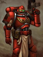 Space Marine by FonteArt