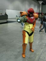 Samus Costume Anime Expo2010 by MidnightLiger0
