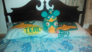 Everything's Better with Perry the Platypus Covers by minishcaplink
