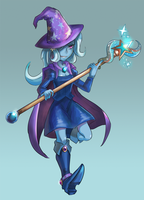 Trixie - The Great and Powerful Mage by iojknmiojknm