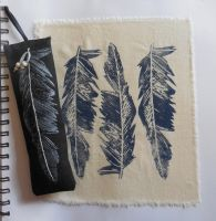 Lino Prints of a Feather by noratheexplorer96