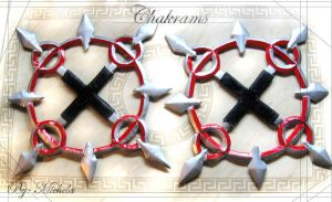 My Chakrams by icequeenserenity