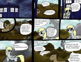 Doctor and Derpy Return to AC by Jensaw101
