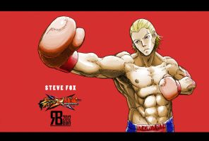 SF x Tekken: Steve Fox by DRedbean