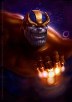THANOS - speed painting by MOROTEO56