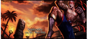 Lee sin sign by marcoshypnos