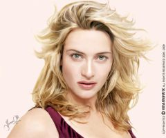 KATE WINSLET by hasansgrafix